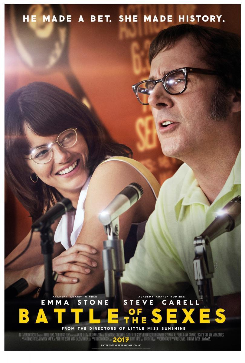 cartel de la película La batalla de los sexos