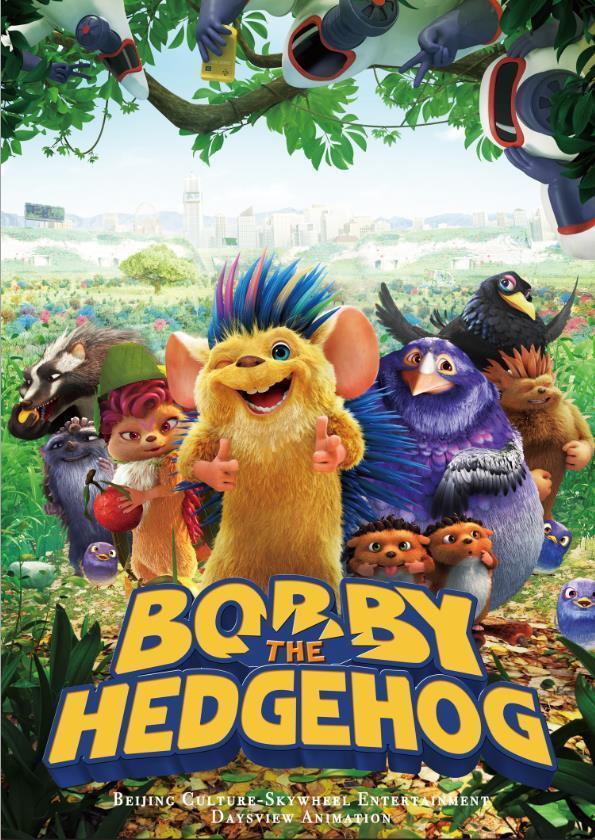 cartel de la película Bobby, el erizo