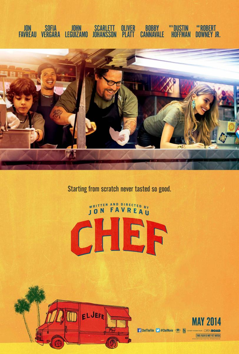 cartel de la película Chef