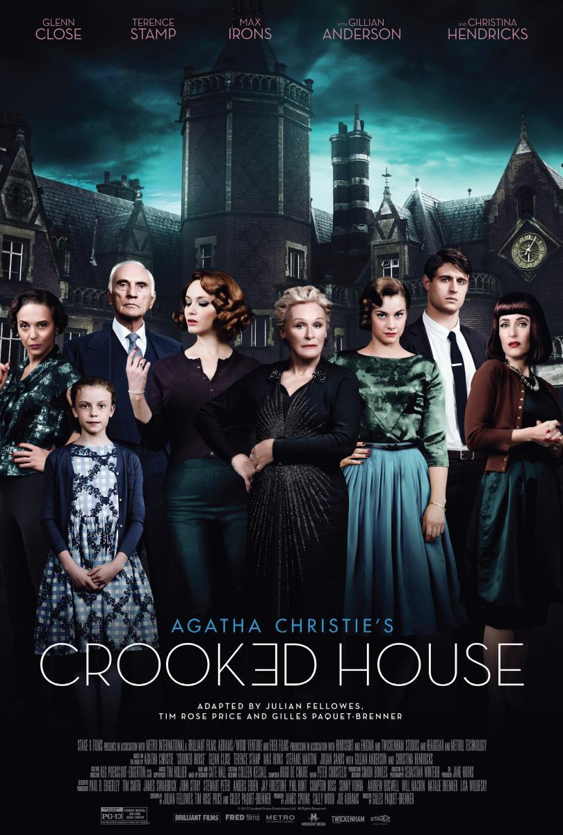 cartel de la película La casa torcida