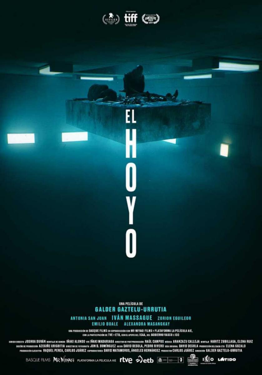 cartel de la película El hoyo