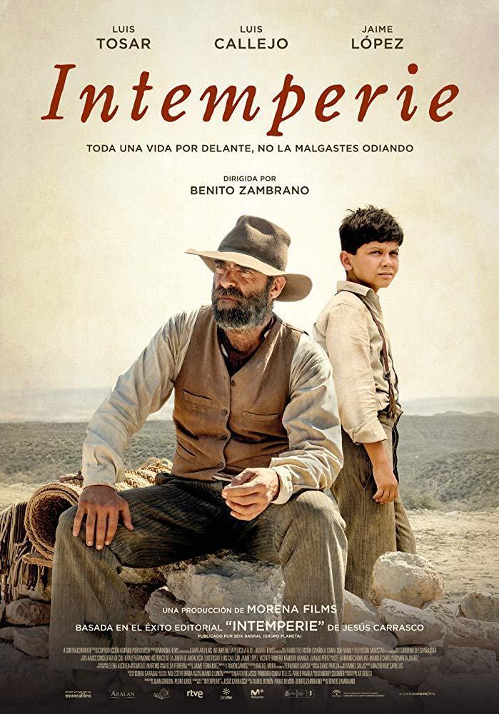 cartel de la película Intemperie