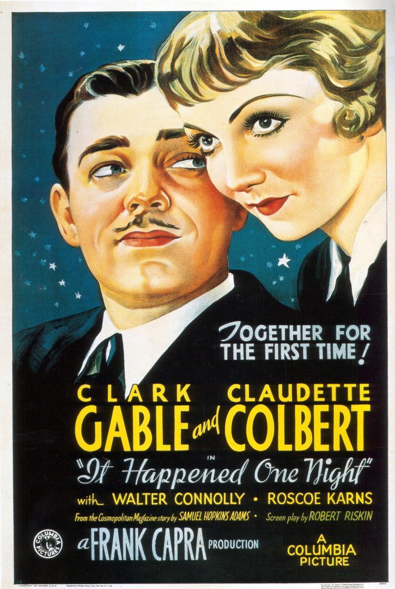 cartel de la película Sucedió una noche