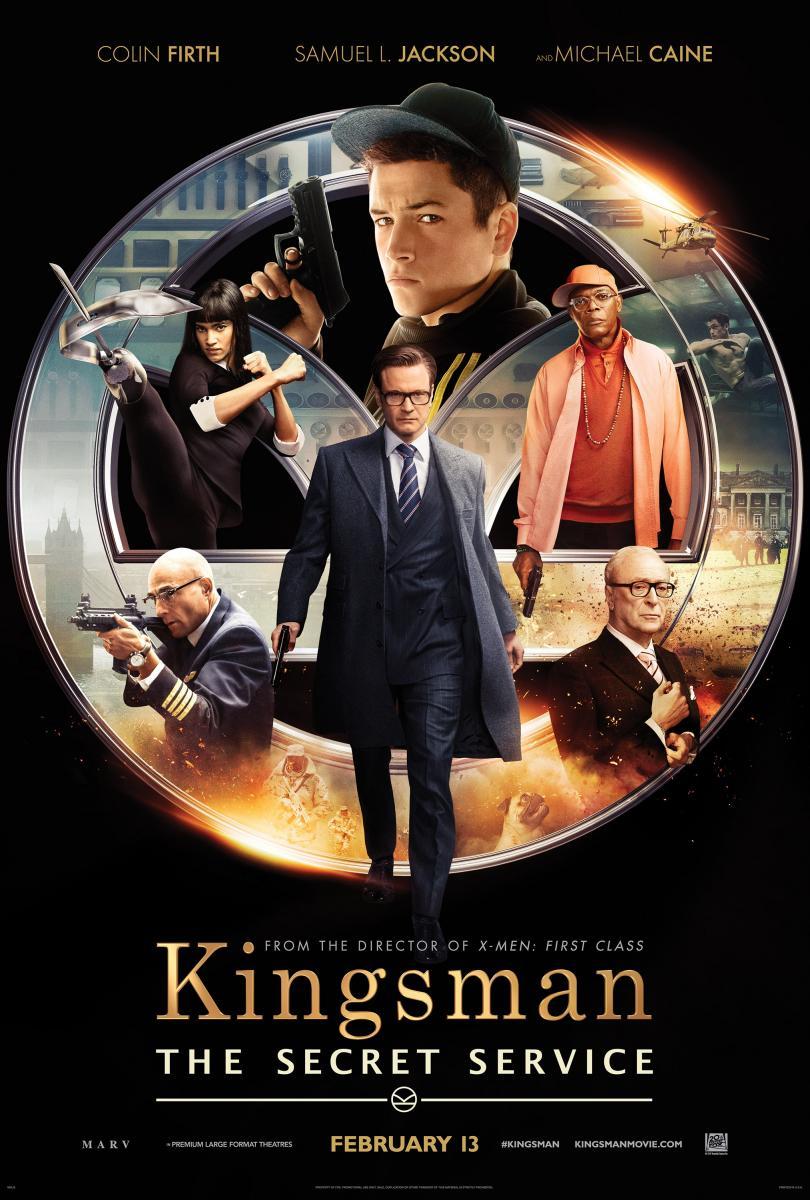 cartel de la película Kingsman: Servicio secreto