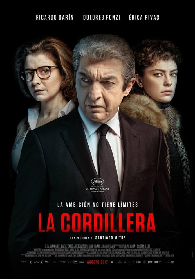 cartel de la película La cordillera