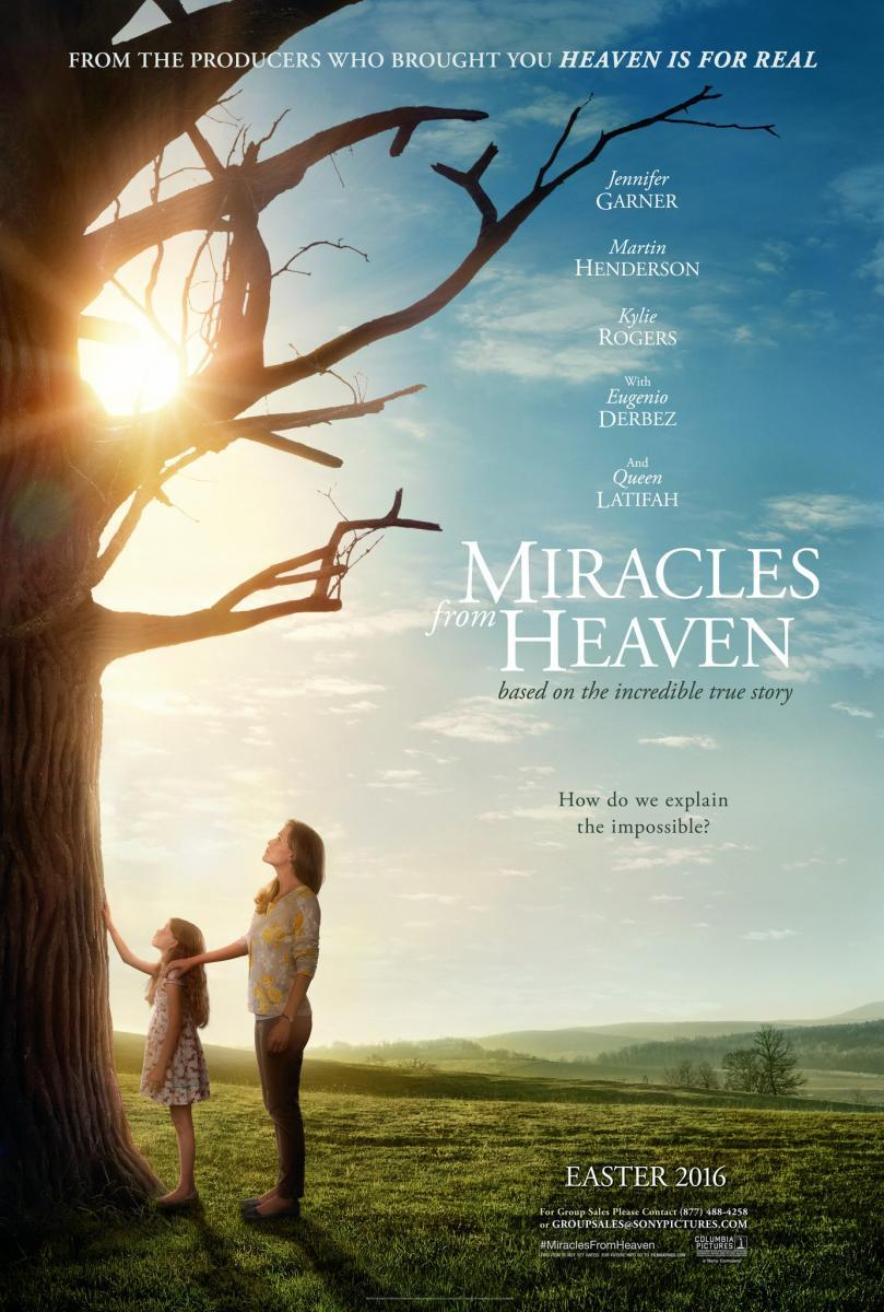 cartel de la película Los milagros del cielo