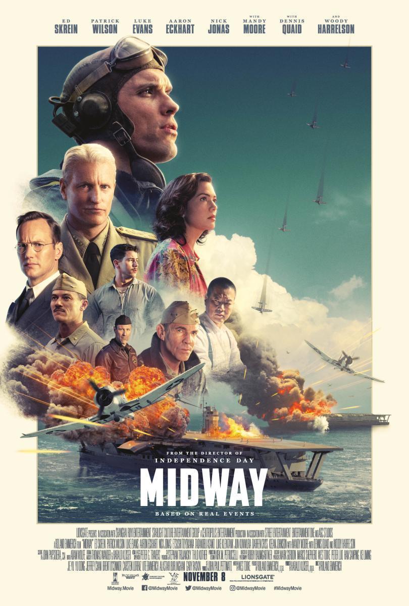 cartel de la película Midway