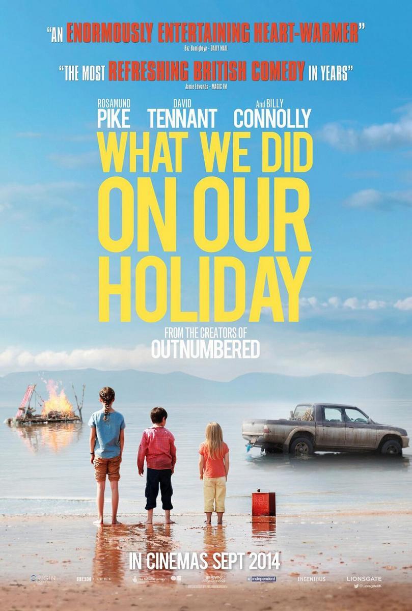 cartel de la película Nuestro último verano en Escocia