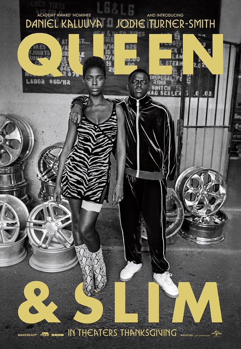 cartel de la película Queen & Slim