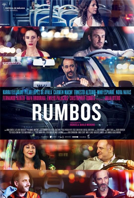 cartel de la película Rumbos