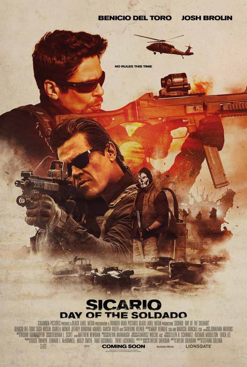 cartel de la película Sicario: El día del soldado