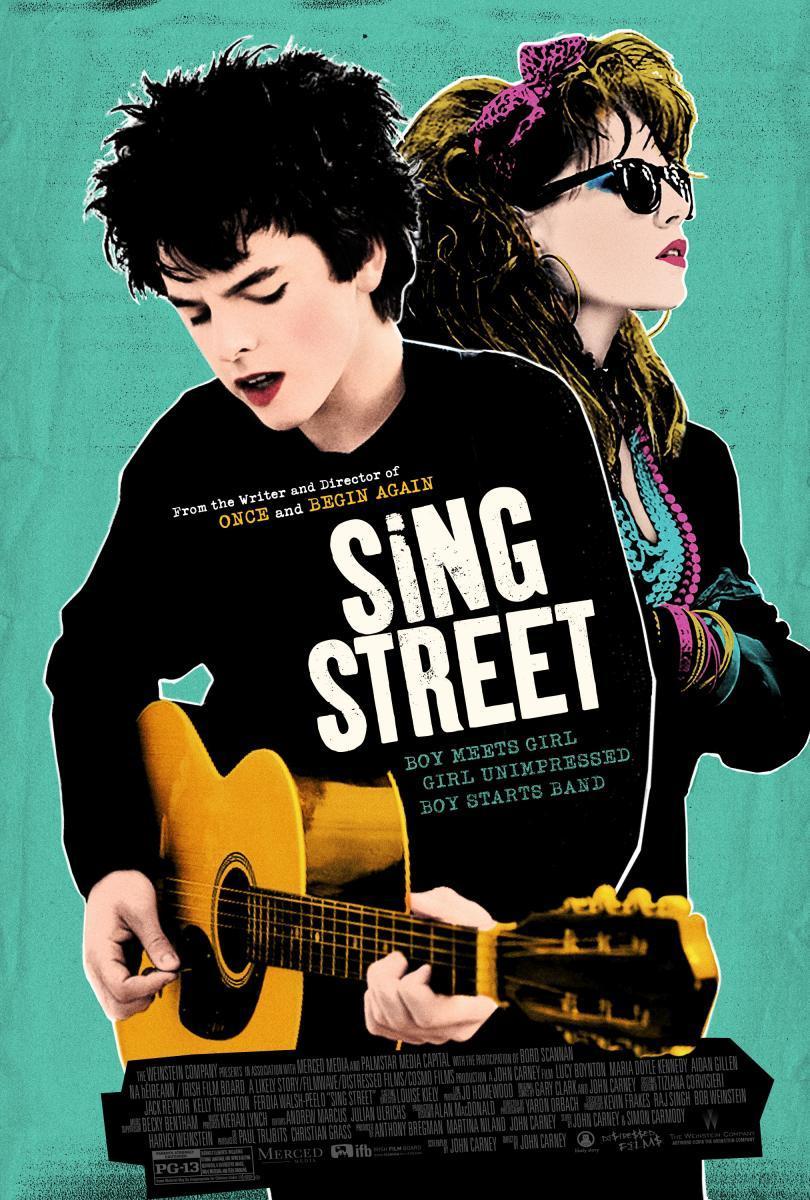 cartel de la película Sing street
