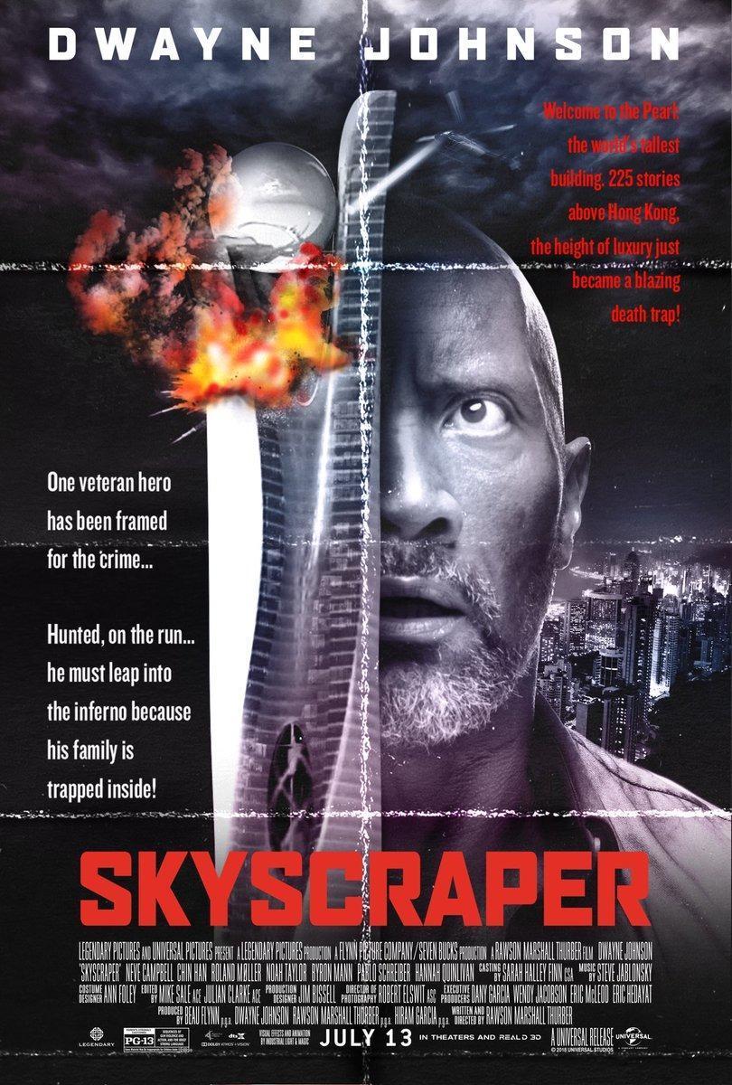 cartel de la película El rascacielos