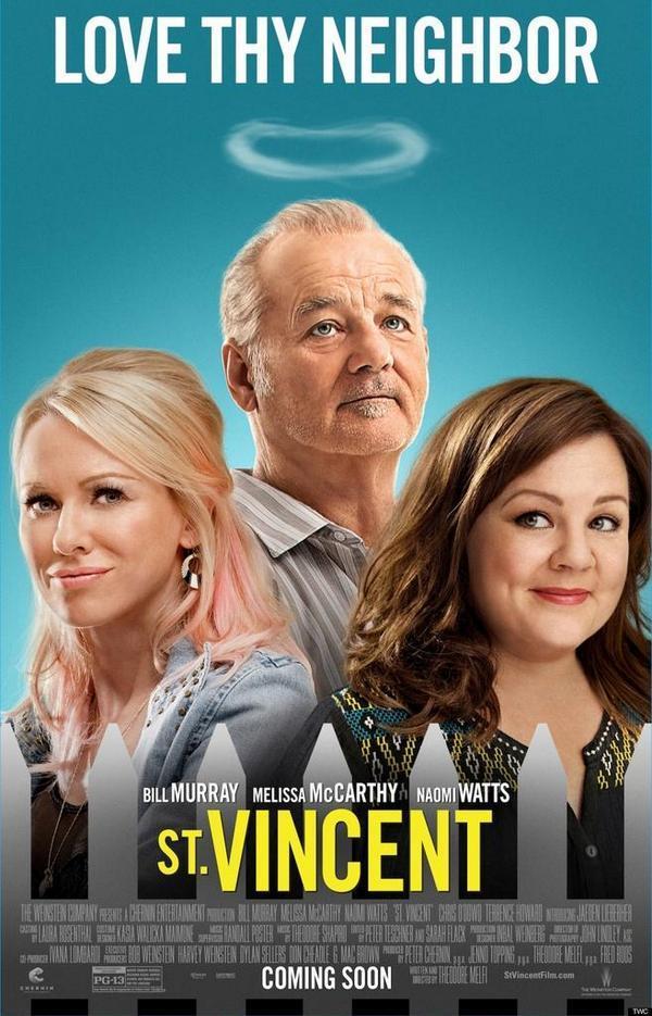 cartel de la película St. Vincent