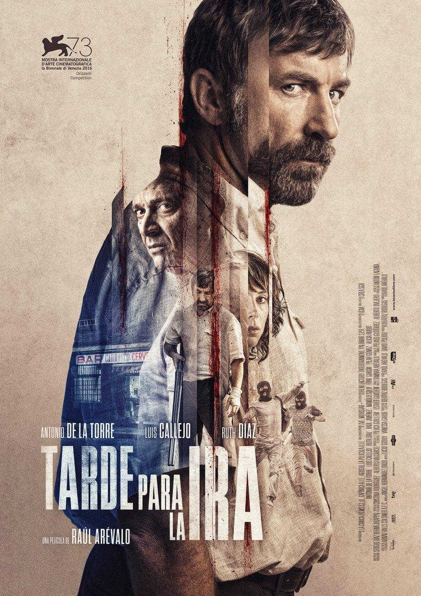 cartel de la película Tarde para la ira