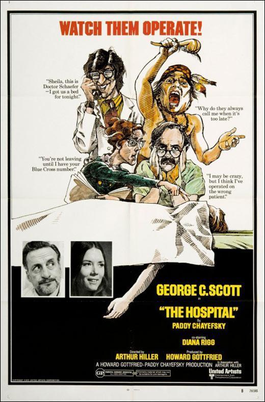 cartel de la película Anatomía de un hospital