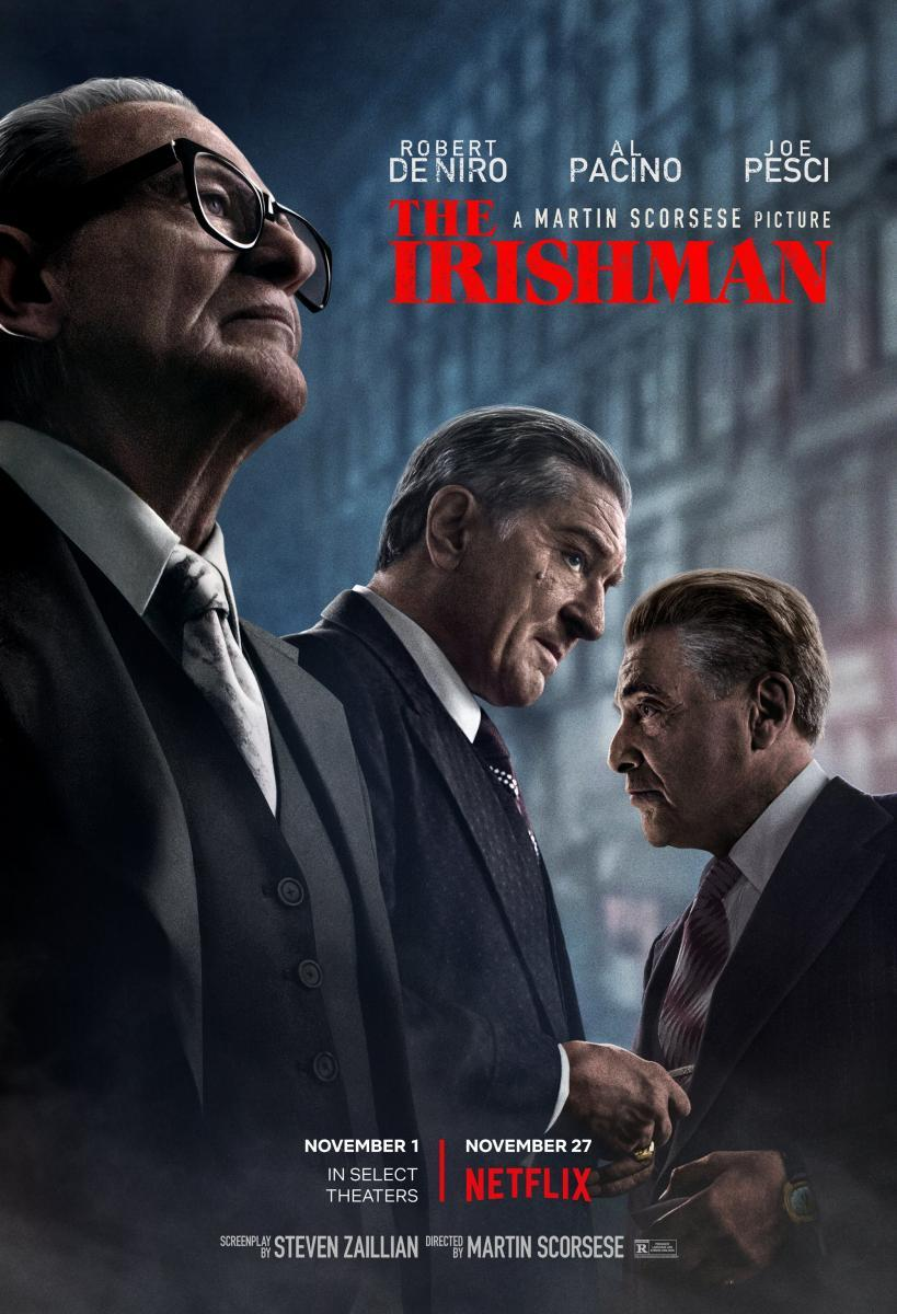 cartel de la película El irlandés