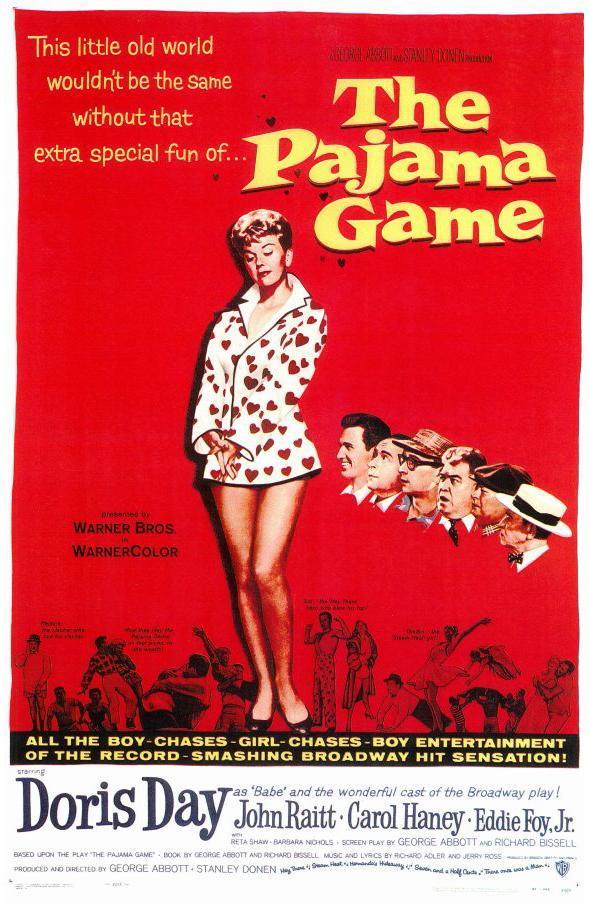 cartel de la película Juego de pijamas