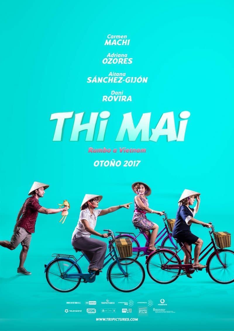 cartel de la película Thi Mai, rumbo a Vietnam