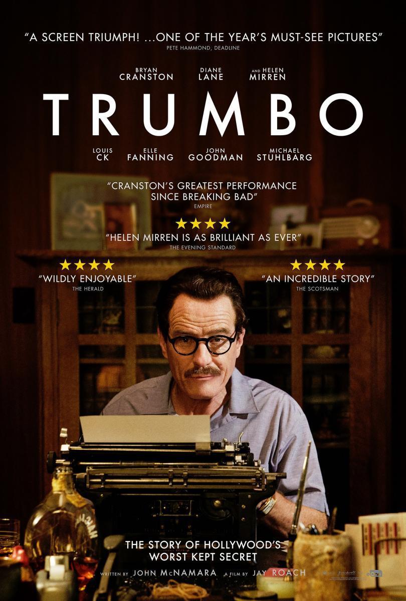 cartel de la película Trumbo: La lista negra de Hollywood
