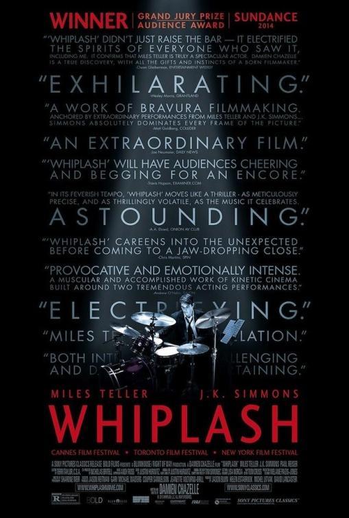 cartel de la película Whiplash