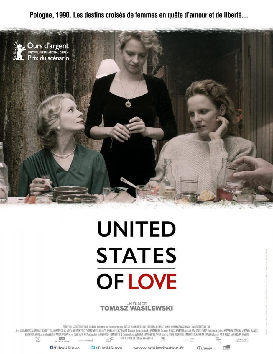 cartel de la película Estados Unidos del amor